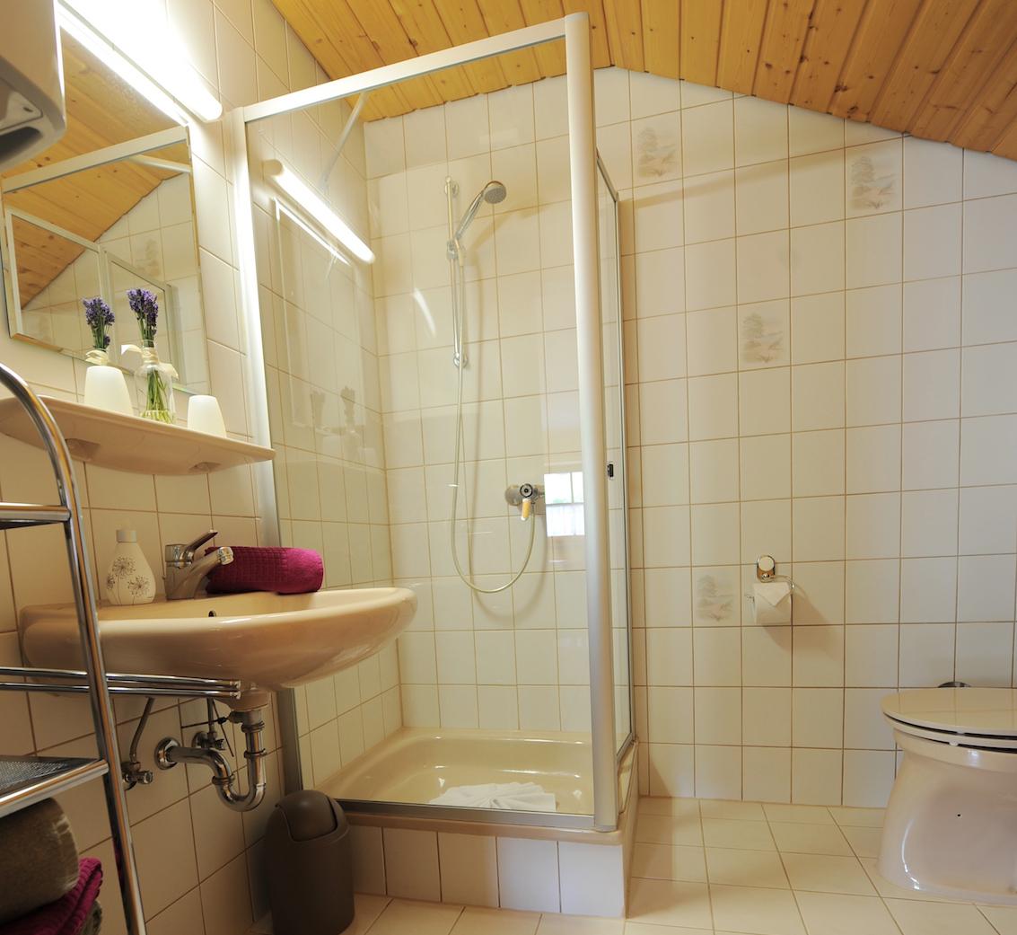 Lavendel Badezimmer-