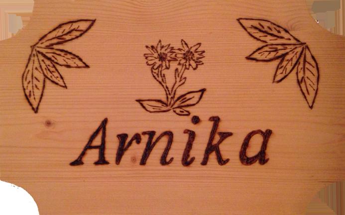 Tuerschild Arnika