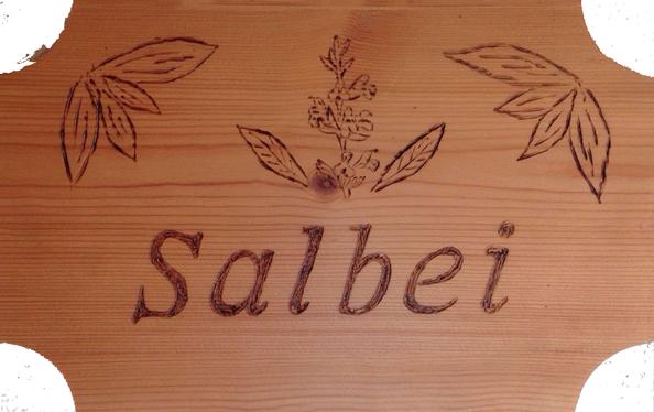 Tuerschild Salbei